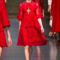 desfile de Dolce & Gabbana
