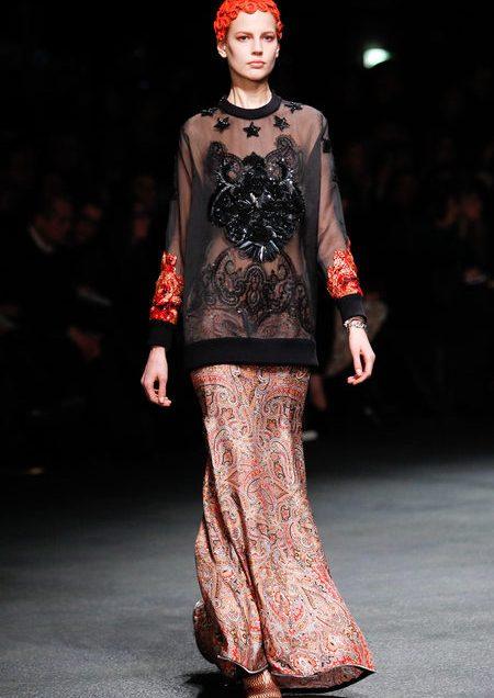 desfile de Givenchy