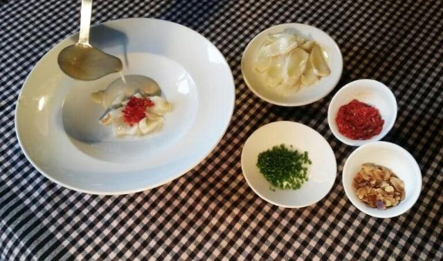 montar el plato