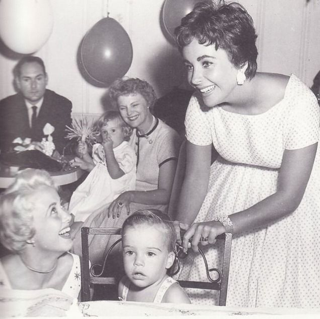 elizabeth taylor and son