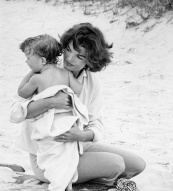 Jacqueline Kennedy with JFK Jnr
