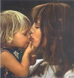 Jane Birkin and Kate