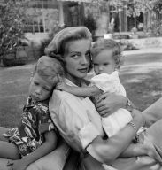 LaurenBacall_with_children